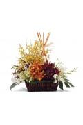 Tropical Orchids Basket